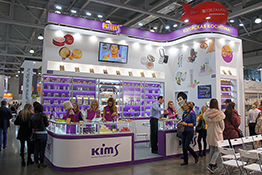 KIMS Exhibition Stand at InterCHARM 2017 SPRING