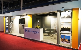 Zorya-Mashproekt Exhibition Stand at IRAN OIL SHOW 2013