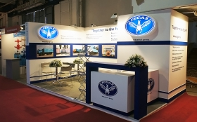 TEGAS Industrial Group Exhibition Stand at IRAN OIL SHOW 2013
