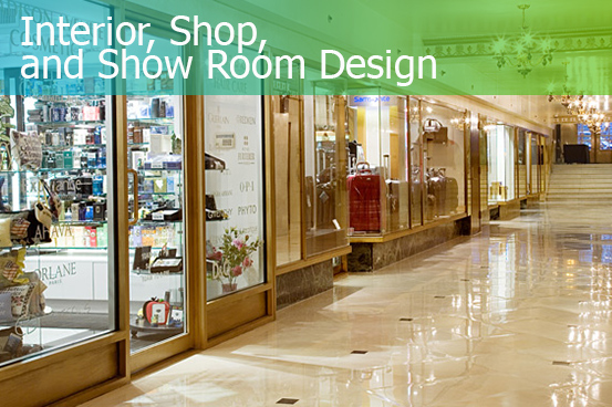INTERIOR, SHOP AND SHOW ROOM design - FRESHEXPO company