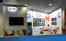 Exhibition Stand at Mipcom 2016