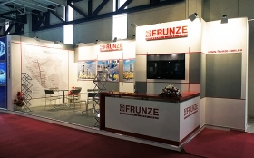 Sumy Frunze NPO Exhibition Stand at IRAN OIL SHOW 2013