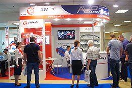 Exhibition Stand at MIMS Automechanika Moscow 2017
