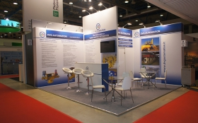 DVG Automation Exhibition Stand at MIOGE 2015