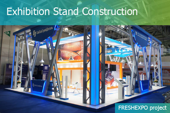 Fabric Exhibition Stand Zones : Stand building and construction freshexpo company