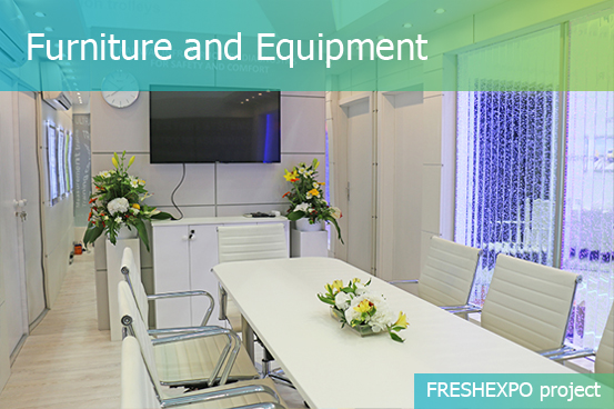 Event Furniture and Equipment Hire – FRESHEXPO company