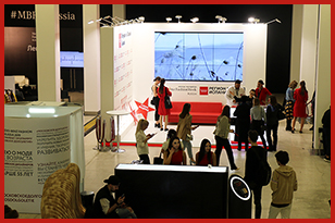 The FRESHEXPO specialists built up the exhibition stand for «Region of Madrid Spain» for MERCEDES BENZ FASHION WEEK 2019