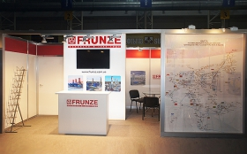 Sumy Frunze NPO Exhibition Stand at Surgut. Oil and Gas-2013