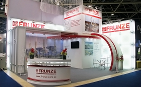 Sumy Frunze NPO Exhibition Stand at MIOGE 2013