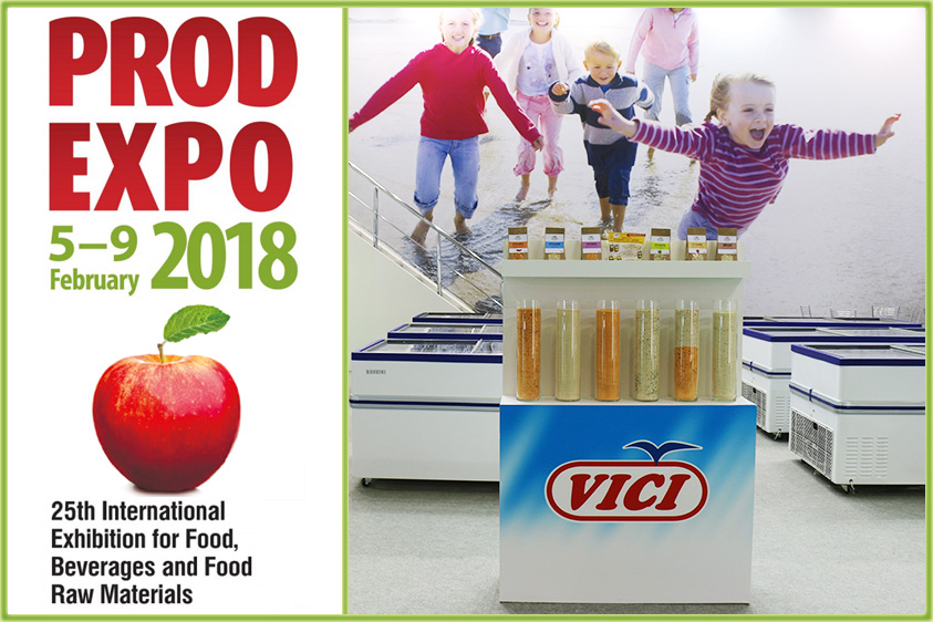 The 25th Anniversary of PRODEXPO, the International Food, Beverages and Food Raw Materials Exhibition