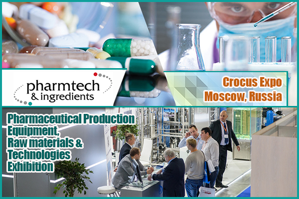 Pharmaceutical equipment, raw materials and technologies to be featured in Pharmtech & Ingredients