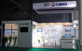 OZNA Exhibition Stand at KIOGE 2013