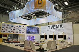 TVEMA Exhibition Stand at InnoTrans 2018