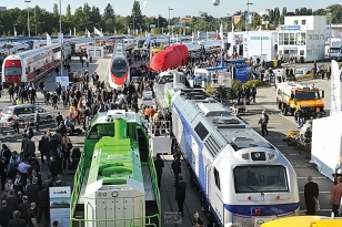 The 10th International Trade Fair for Transport Technology InnoTrans 2014 in Berlin