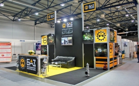 BAZ Exhibition Stand at Oil and Gas Forum 2011
