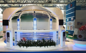 TyazhPromComplect Exhibition Stand at KIOGE 2014