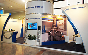 Tyazhpromarmatura Exhibition Stand at OGT 2014