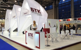 BTK Group Exhibition Stand at BiOT 2014
