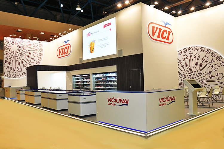 VICIUNAI Group Exhibition Stand at PRODEXPO 2018