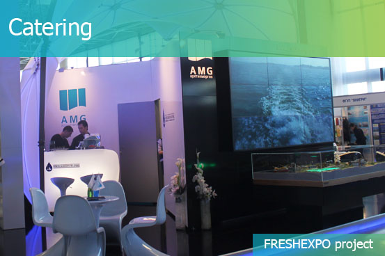 Catering for Trade Fair and Exhibition - FRESHEXPO company