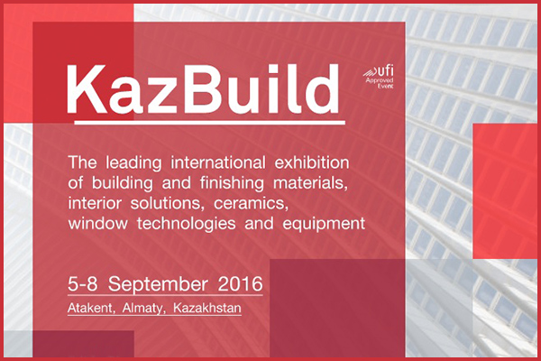 Innovative solutions for interior and top-of-the-art building equipment at Kazbuild exhibition in Kazakhstan
