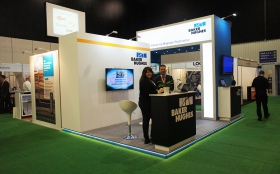 Exhibition Stand at Shale Oil & Gas World Europe 2014