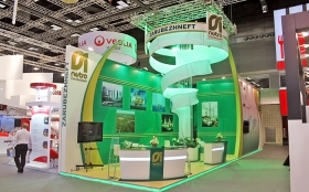 Zarubezhneft Exhibition Stand at WPC 2011