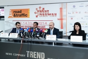 TRANSCASPIAN 2014, International Transport, Transit and Logistics Exhibition, took place in Baku, Azerbaijan