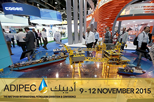 The Largest Oil & Gas Exhibition ADIPEC-2015 in Abu Dhabi opening today