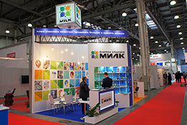 MILK Exhibition Stand at Dairy & Meat Industry Expo-2017
