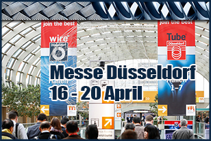 Tubes, Wires and Cables Production Achievements will be Presented in the Tubes and Wires Exhibition in Germany