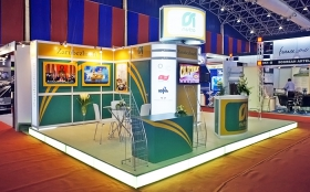Zarubezhneft Exhibition Stand at Vietnam Oil & Gas Expo 2011