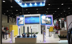 Tyazhpromarmatura Exhibition Stand at ROS-GAS-EXPO 2014