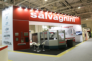 Salvagnini exhibition stand at Metalloobrabotka-2017