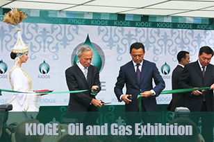 KIOGE— the most established and best attended oil and gas trade event in the Central Asian region — starts in Almaty on 6 October