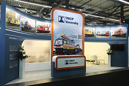 Exhibition stand at IAF Munster 2017