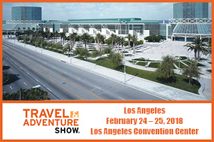 Travel & Adventure Show Los Angeles 2018, America's Favorite Travel Show, in Los Angeles Convention Center