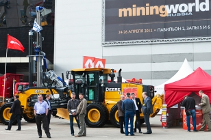 Mining World Russia 2012, the 16th International Exhibition and Conference, took place in Moscow, Russia
