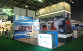 IPS Group Exhibition Stand at KIOGE 2014