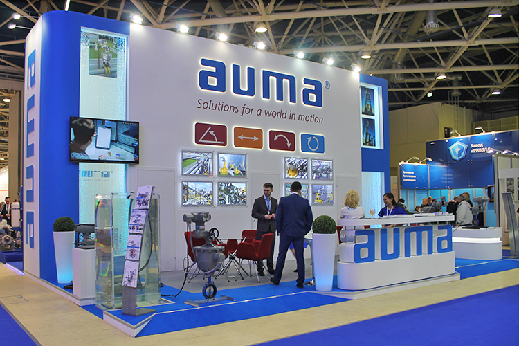 Expo Exhibition Stands In : Auma exhibition stand at neftegas expo 2018