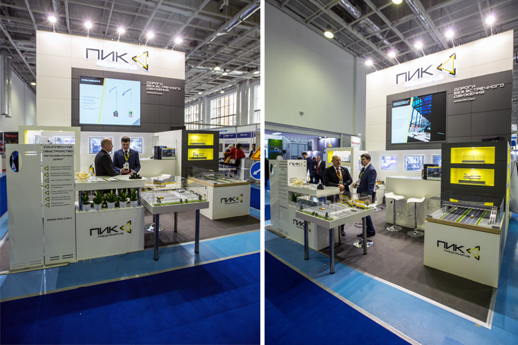 PIK Exhibition Stand at Kazavtodor-Kaztraffic 2018