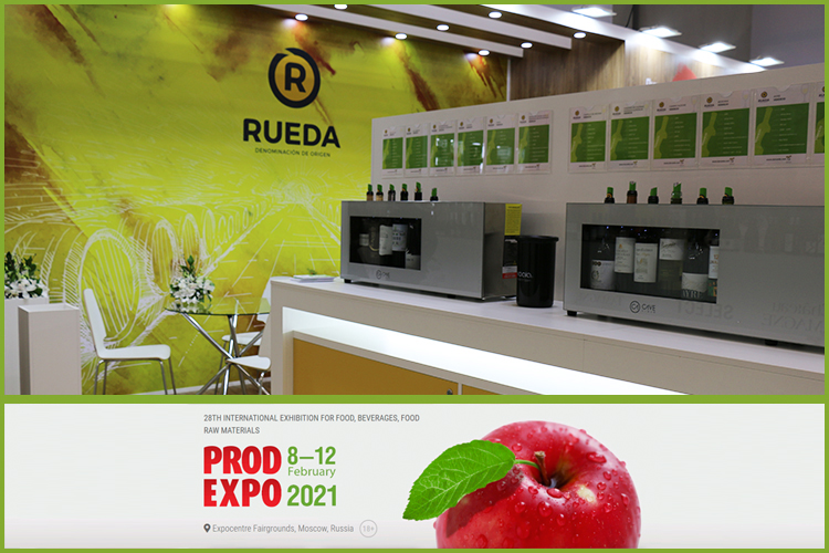 The FRESHEXPO team designed and built up exhibition stands for VICI and Rueda at PRODEXPO