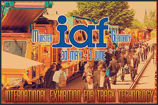 The IAF 2017 Railroad Equipment And Infrastructure Exhibition starts in Münster, Germany