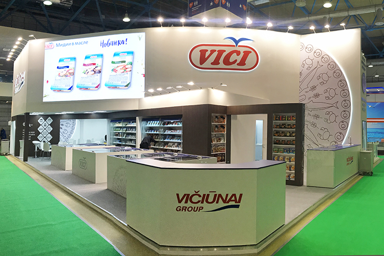 VICI exhibition stand at PRODEXPO 2019