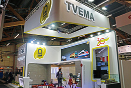 TVEMA exhibition stand at Elmia Nordic Rail 2019