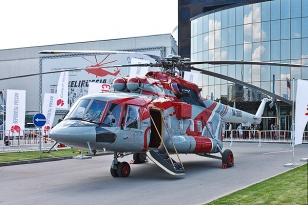 HeliRussia 2012, the 5th International Exhibition for Helicopter Industry, took place in Moscow, Russia