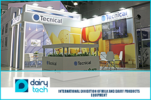 The FRESHEXPO experts designed and brought into reality the design-projects of exhibition stands for Tecnical and Faccinetti at DairyTech | Dairy & Meat Industry exhibition.
