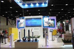 Construction of a showstand for JSC «Tyazhpromarmatura» and TyazhPromComplect Oil&Gas Systems JSC at ROS-GAS-EXPO 2014
