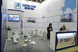 Baltica-Trans exhibition stand at Khimia expo 2017