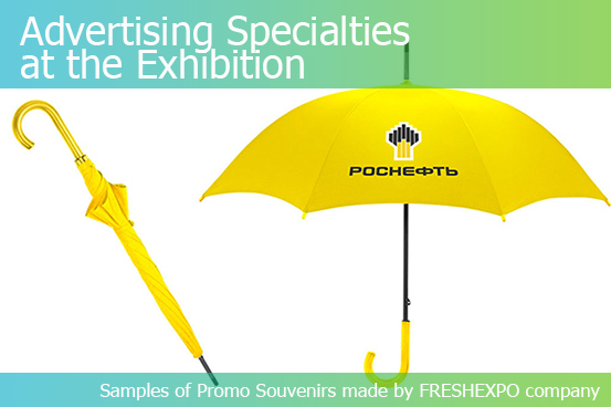 ADVERTISING SPECIALTIES AT THE EXHIBITION — FOR GUESTS, CLIENTS, AND PARTNERS